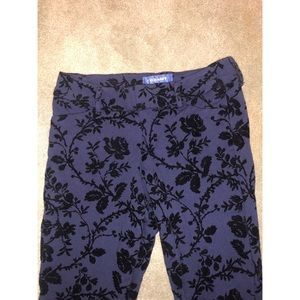Old Navy Stretch Trousers with Velvet detail